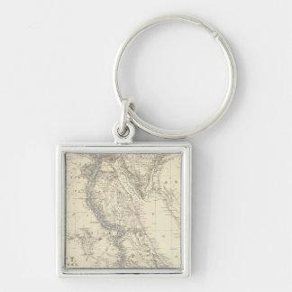 Egypt, Arabia Petraea, Nubia Keychains