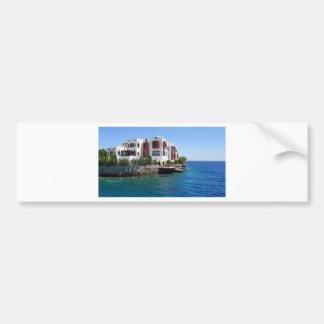 egypt architecture bumper sticker