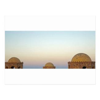 egypt architecture postcard