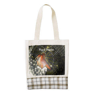 Egypt Art Zazzle HEART Tote Bag
