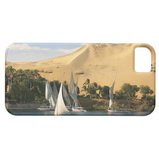 Egypt Aswan Nile River Felucca sailboats 2 iPhone 5 Covers