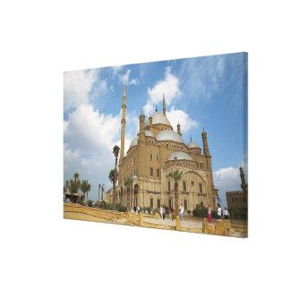 Egypt, Cairo, Citadel, Muhammad Ali Mosque 2 Canvas Print