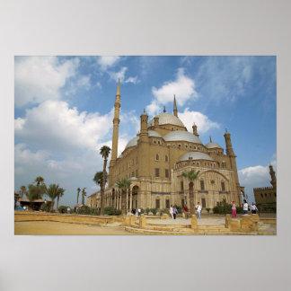 Egypt, Cairo, Citadel, Muhammad Ali Mosque 2 Poster
