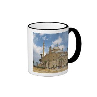 Egypt, Cairo, Citadel, Muhammad Ali Mosque 2 Ringer Mug