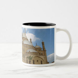 Egypt, Cairo, Citadel, Muhammad Ali Mosque 2 Two-Tone Coffee Mug