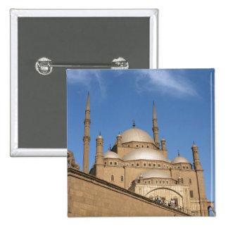 Egypt, Cairo, Citadel, Muhammad Ali Mosque 3 2 Inch Square Button