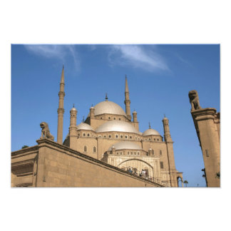 Egypt, Cairo, Citadel, Muhammad Ali Mosque 3 Photo Print