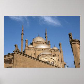 Egypt, Cairo, Citadel, Muhammad Ali Mosque 3 Poster