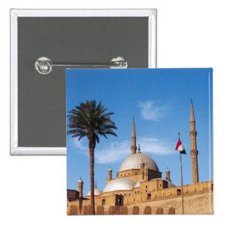 Egypt, Cairo, Citadel, Muhammad Ali Mosque 2 Inch Square Button
