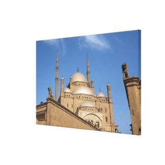Egypt, Cairo, Citadel, Muhammad Ali Mosque Canvas Print