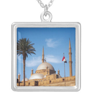 Egypt, Cairo, Citadel, Muhammad Ali Mosque Personalized Necklace