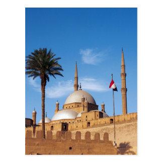 Egypt, Cairo, Citadel, Muhammad Ali Mosque Postcard