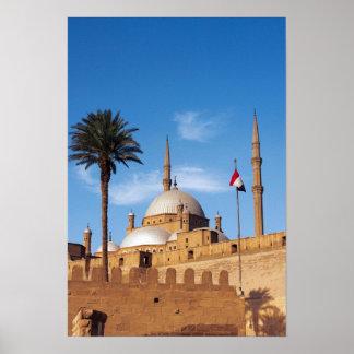 Egypt, Cairo, Citadel, Muhammad Ali Mosque Poster