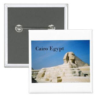 Egypt Cairo Giza Sphinx-2 St K Button