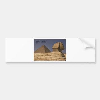 Egypt Cairo Giza Sphinx (St.K) Bumper Sticker