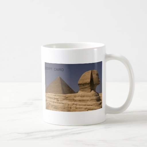 Egypt Cairo Giza Sphinx (St.K) Classic White Coffee Mug