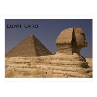 Egypt Cairo Giza Sphinx St K Post Card