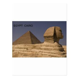 Egypt Cairo Giza Sphinx St K Postcard