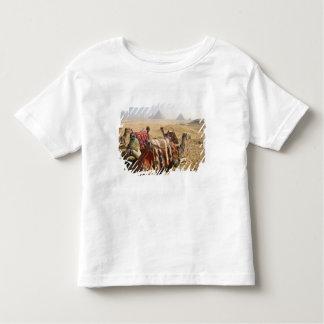 Egypt, Cairo. Resting camels gaze across the Toddler T-shirt