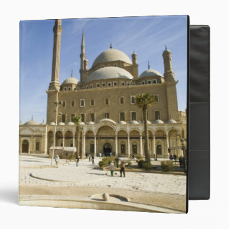 Egypt, Cairo. The imposing Mohammed Ali Mosque 3 Ring Binder