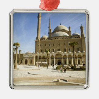 Egypt, Cairo. The imposing Mohammed Ali Mosque Metal Ornament