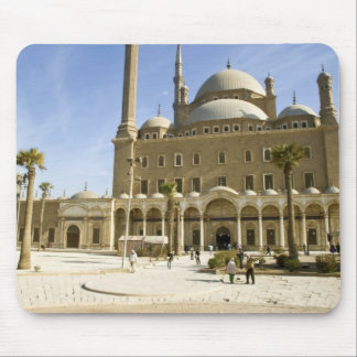 Egypt, Cairo. The imposing Mohammed Ali Mosque Mouse Pad