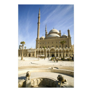 Egypt, Cairo. The imposing Mohammed Ali Mosque Photo Print
