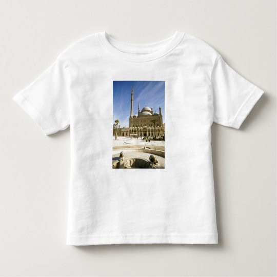 Egypt, Cairo. The imposing Mohammed Ali Mosque Toddler T-shirt