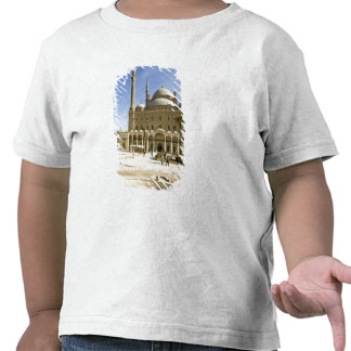 Egypt, Cairo. The imposing Mohammed Ali Mosque T Shirts