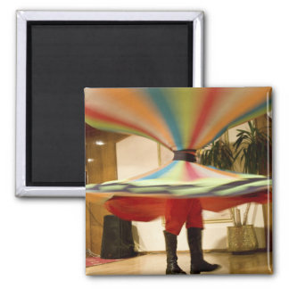 Egypt, Cairo. Whirling dervish dazzling GCT Magnet