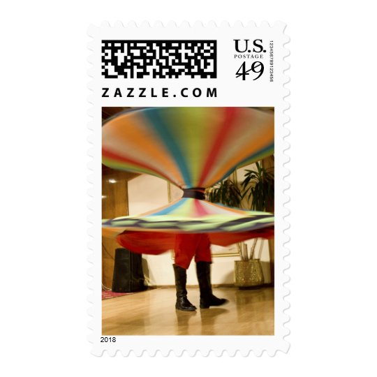 Egypt, Cairo. Whirling dervish dazzling GCT Postage