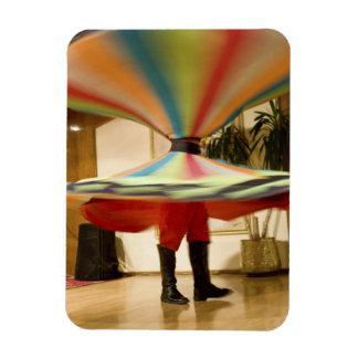 Egypt Cairo Whirling dervish dazzling GCT Vinyl Magnet