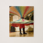 Egypt, Cairo. Whirling dervish dazzling GCT Puzzle