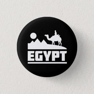 Egypt Camel Silhouette Pinback Button