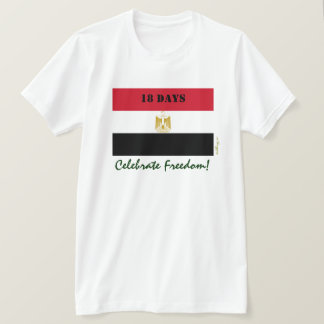 EGYPT Celebrate Freedom Fitted T-Shirt