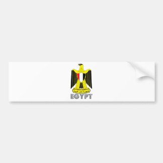 Egypt Coat of Arms Bumper Sticker