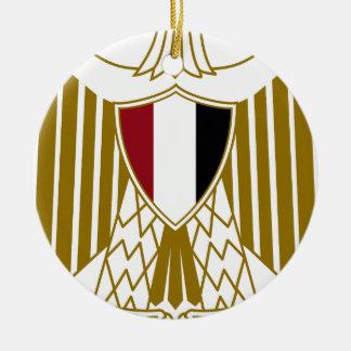 Egypt Coat of Arms Ceramic Ornament