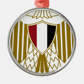 Egypt Coat of Arms Metal Ornament