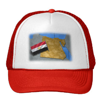 Egypt country with its flag trucker hat