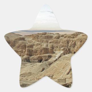 egypt desert star sticker