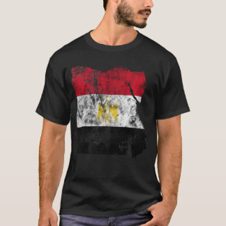 Egypt Distressed Flag T-Shirt