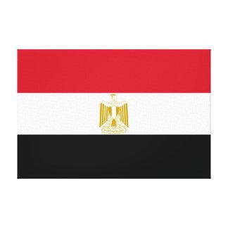 Egypt – Egyptian Flag Canvas Print