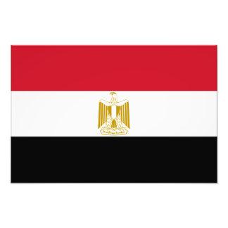 Egypt – Egyptian Flag Photo Print