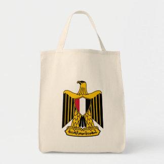 egypt emblem canvas bags