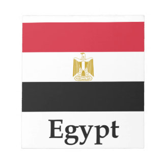 Egypt Flag And Name Note Pads