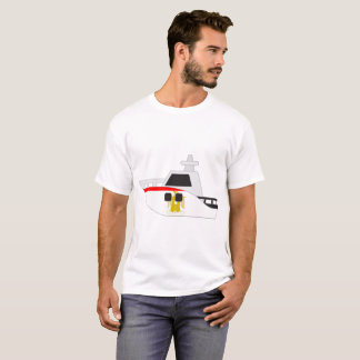 Egypt Flag Boat T-Shirt