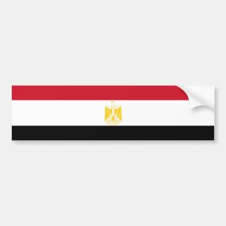 Egypt Flag Bumper Sticker