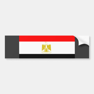 Egypt Flag Bumper Stickers
