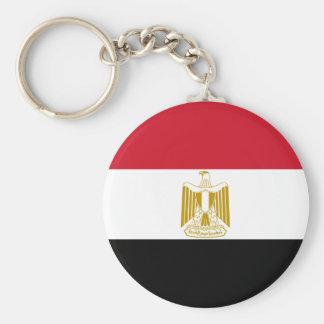 Egypt Flag EG Basic Round Button Keychain