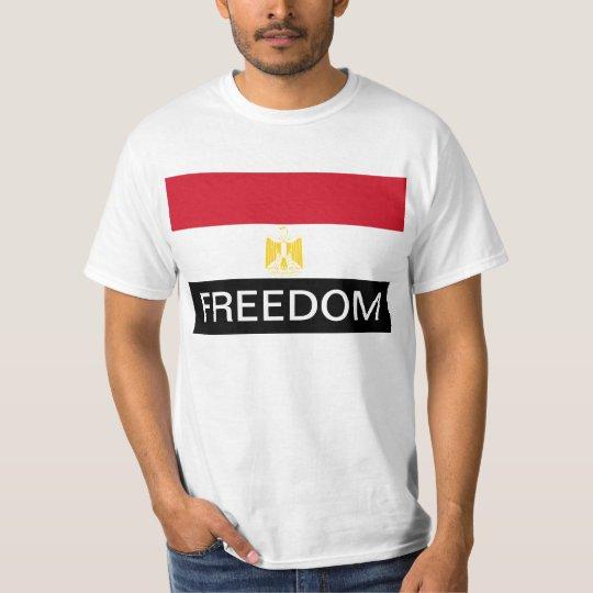 Egypt Flag FREEDOM T-Shirt